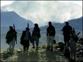 عکس آرشیوی از شورشیان طالبان