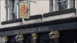 Лондонский паб Cadogan Arms