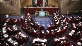 تصویری از جلسه امروز مجلس خبرگان