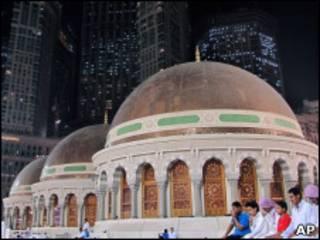 Город Мекка в Саудовской Аравии