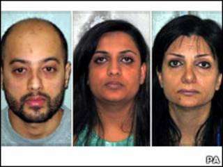 اعضای باند قاچاق انسان