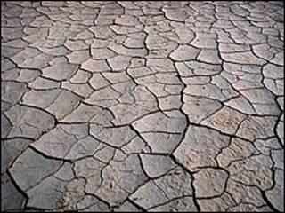 Tierra seca.