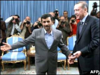 اردوغان و احمدی نژاد