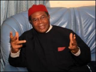 Shugaban jam'iyar PDP,Chief Okwesilieze Nwodo