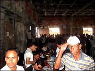 नेपाली कांग्रेसका कार्यकर्ताहरु