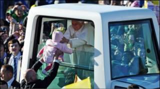 پاپ در گلاسکو