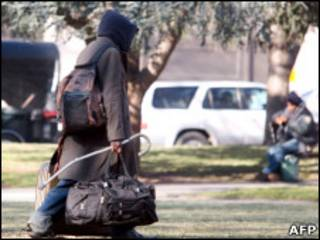 бездомный в Вашингтоне