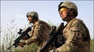 ब्रिटेन के सुरक्षाकर्मी
