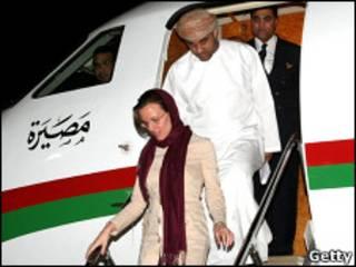 سارا شورد پس از آزادی در عمان