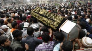 похороны в Кашмире