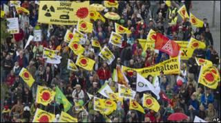 متظاهرون المان