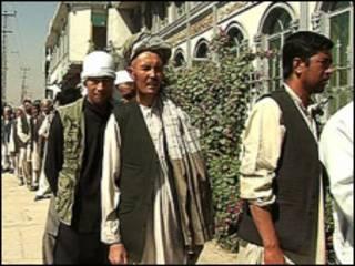 Masu zabe a Afghanistan