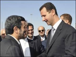 احمدی نژاد و اسد