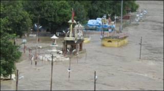 बाढ़ की स्थिति