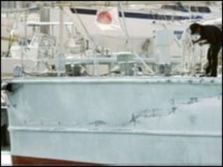 قررت اليابان تمديد احتجاز القبطان الصيني