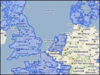 На карте Google street view ФРГ пока нет