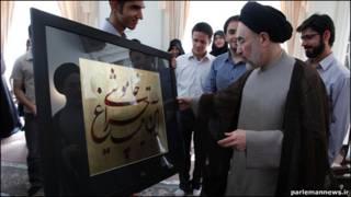 محمد خاتمی، رئیس جمهور سابق ایران