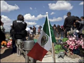 Funeral del periodista del Diario de Juárez