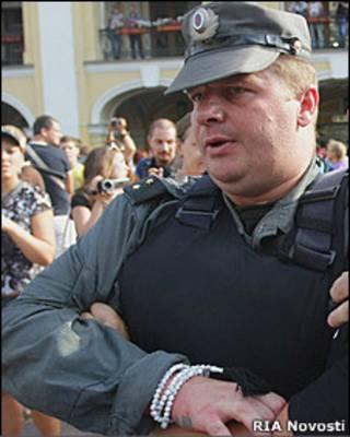 Прапорщик Вадим Бойко (31 июля 2010 года)