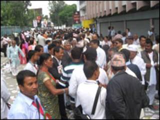 नेपाली कांग्रेसका मतदाताहरु