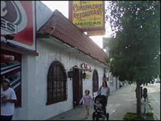 Restaurante mexicano en los Ángeles