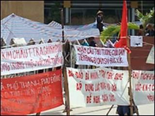 Khiếu kiện tập thể tại TP Hồ Chí Minh