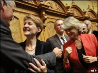 Mujeres en la política suiza