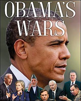 "Portada del libro ""Las guerras de Obama"" del periodista Bob Woodward"