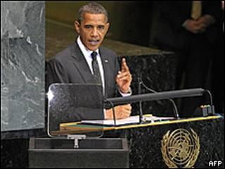 Tổng thống Obama tại LHQ