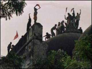 Masallacin Babri da Hindu suka rusa