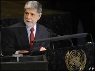 Celso Amorim na ONU