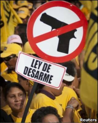 Campanha pelo desarmamento