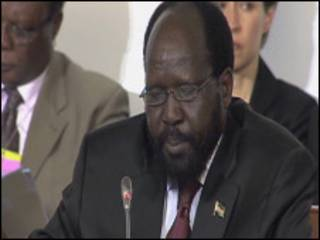 Shugaban kudancin Sudan, Salva Kiir