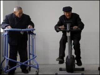 تزايد عدد المسنين في الصين