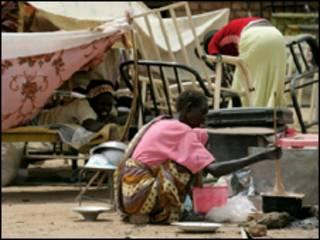 نازحون جنوبيون في العاصمة الخرطوم