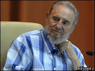 Fidel Castro durante un acto público el martes en La Habana.