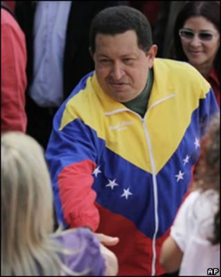 Уго Чавес, президент Венесуэлы