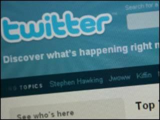 Сайт микроблогов Twitter