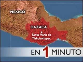 Yankin da zabtarewar kasa ta shafa a Mexico