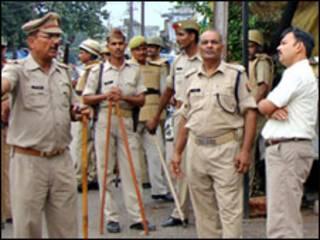 شرطة هندية في ايوديا