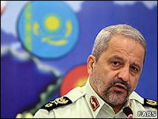 اسماعیل احمدی مقدم، رئیس پلیس ایران
