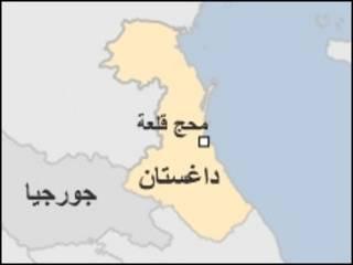 خريطة داغستان