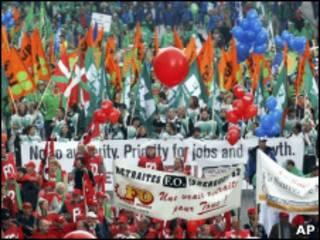 Марш в Брюсселе