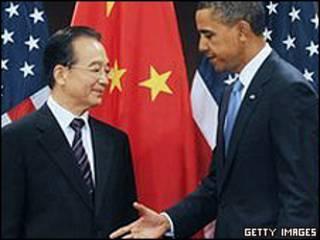 هو جین تائو و اوباما