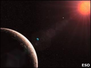 Звезда Gliese 581
