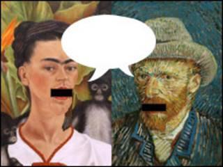 Frida y Vincent conversando / BBC Mundo