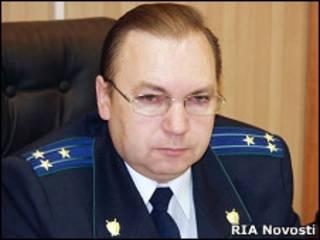 Бывший прокурор Саратовской области Евгений Григорьев