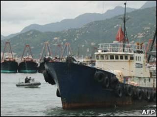 香港渔船(资料图片)
