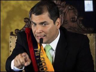 Shugaban Ecuador Rafael Correa