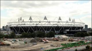 Stadion Olimpiade 2012